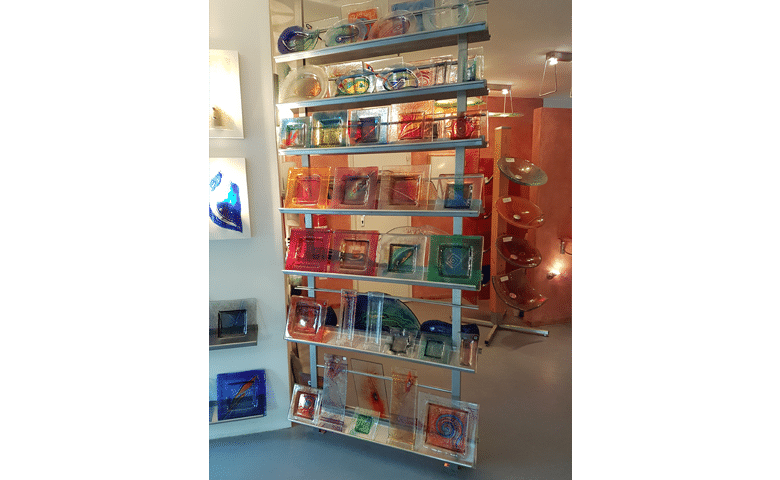 dekoration aus glas