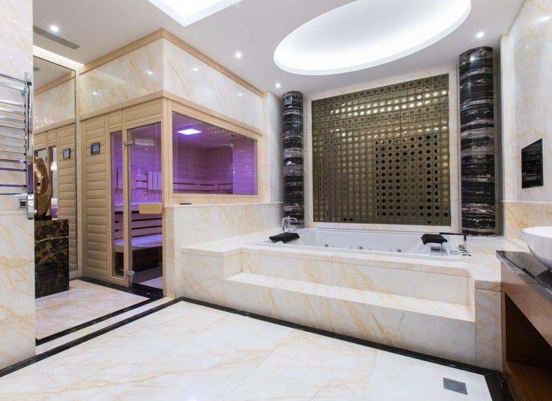 Sauna Blickfang