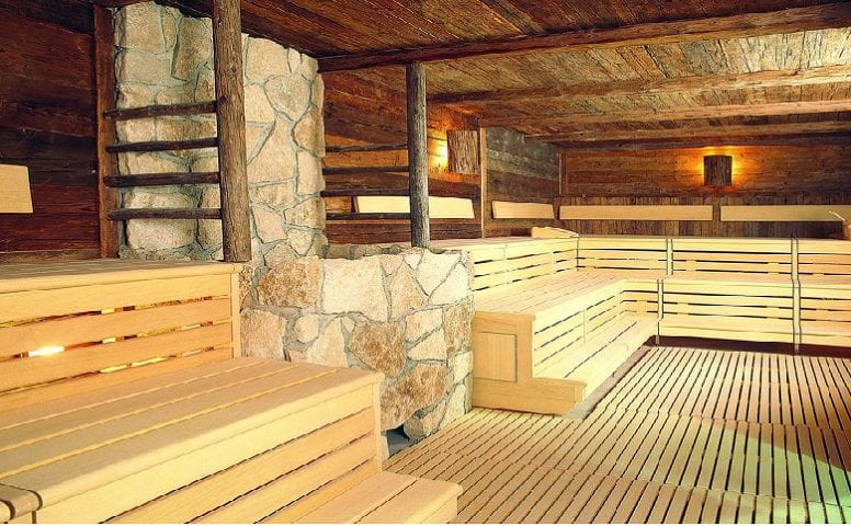 Sauna Fichte Altholz